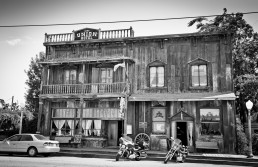 1880 Union Hotel in Los Alamos, Santa Barbara County, Kalifornien - seen by streb