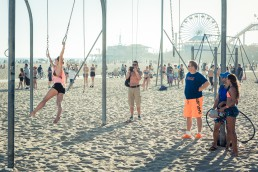 Santa Monica Pier, Los Angeles - seen by streb
