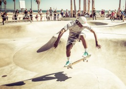 Venice Beach, Los Angeles - seen by streb
