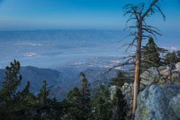 Palm Springs, Mount San Jacinto, Palm Springs Aerial Tramway - seen by streb