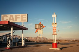 Roy's Motel & Cafe, Route 66, Amboy, California - seen by streb