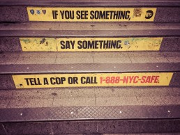NYC Subway | seen by streb