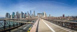 Brooklyn Bridge, NYC - seen by streb