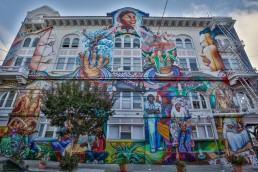 Mural Arts, San Francisco - seen by streb