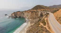 Bixby Creek Bridge, Big Sur, Highway Nr. 1 | seen by streb