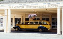 Mammoth Hot Springs Hotel, Yellowstone National Park, USA - seen by streb