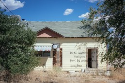 Ghost Town Schellbourne (ehem. Pony Express Station), Nevada Historical Marker - seen by streb