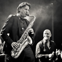 Axel Kühn, Saxofonist bei der Soul Kitchen Band | seen by streb