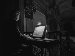 Pianist Stefan Aichinger, Schloss Leopoldskron - seen by streb